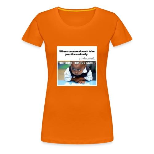 Baby face - Women's Premium T-Shirt