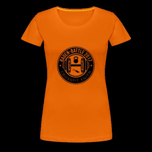 Crossfit Friedrichshafen / Konstanz Baden-Battle - Frauen Premium T-Shirt