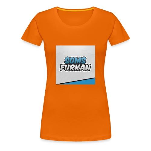 SomsFurkan merchendise - Vrouwen Premium T-shirt