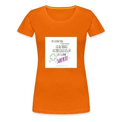 cosasbienhechas_copia - Camiseta premium mujer