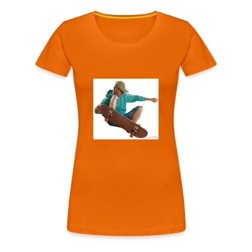 skateboardjump - Maglietta Premium da donna