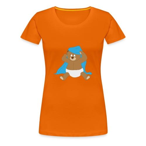 Beertje onder deken - Vrouwen Premium T-shirt