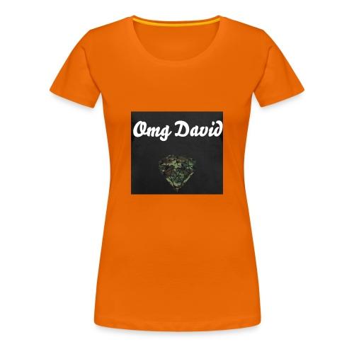 Omg David - Frauen Premium T-Shirt