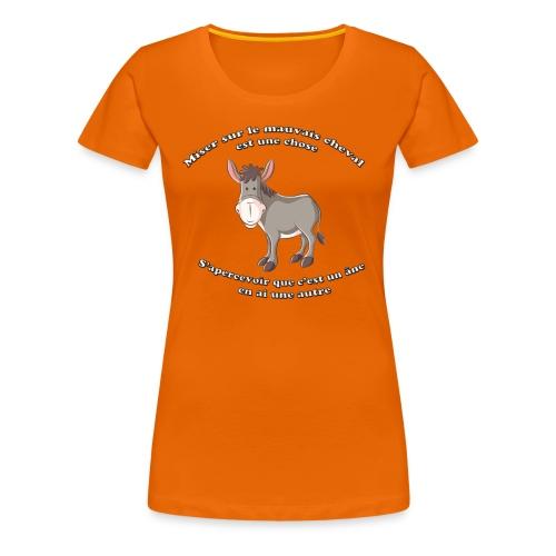 HI HAN by LOL+LOL=MDR - T-shirt Premium Femme