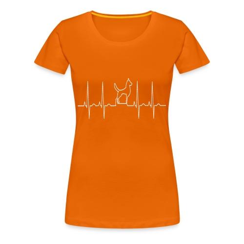 Vêtements pour les amoureux des chiens - T-shirt Premium Femme