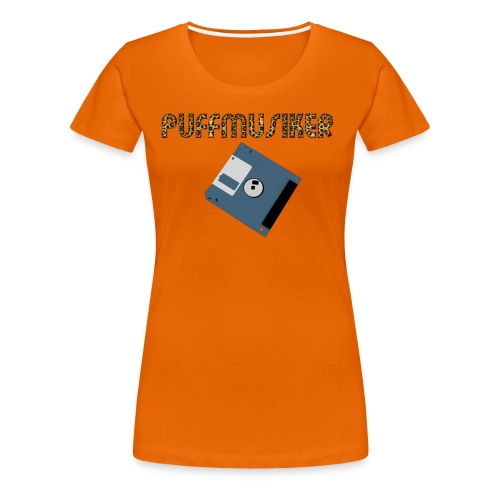 004 time4music - Frauen Premium T-Shirt
