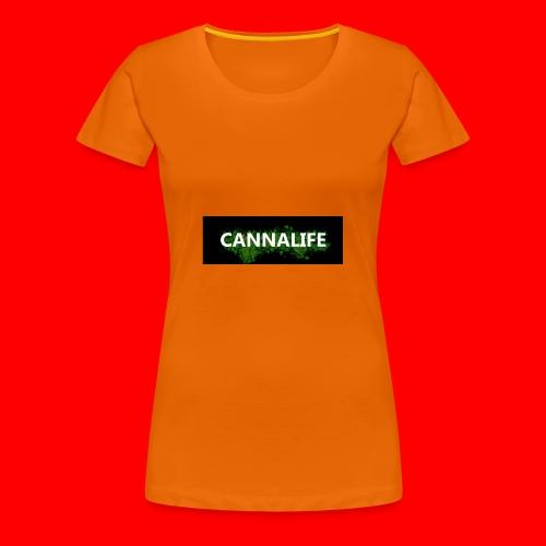 Cannalife - Dame premium T-shirt