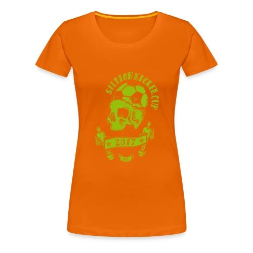 Logo Silpion Kicker Cup 2017 - Frauen Premium T-Shirt