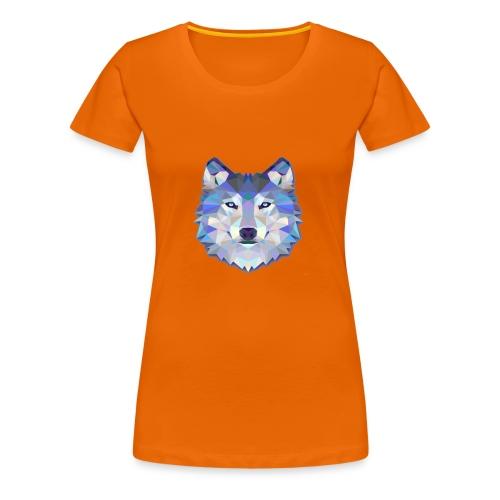 WinterWolf-LoboDeInvierno - Camiseta premium mujer