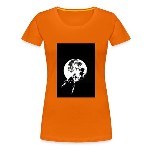 El Lobo y la Luna - Camiseta premium mujer