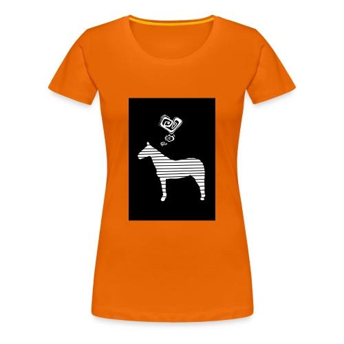 Pferde Herz - Frauen Premium T-Shirt