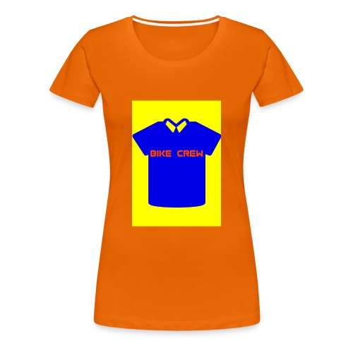 Bike Crew Merch (blau) - Frauen Premium T-Shirt