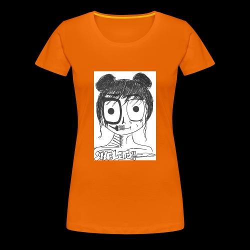 skeleton girl - T-shirt Premium Femme