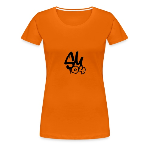 simmes logga - Premium-T-shirt dam