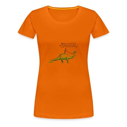 Roooooaaaawr - Frauen Premium T-Shirt
