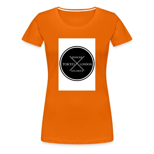 Four City Design - Women's Premium T-Shirt