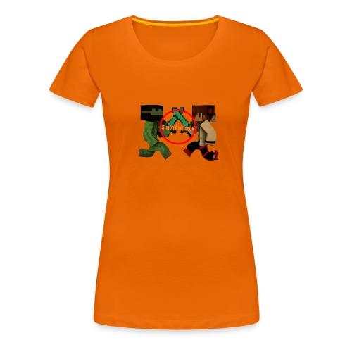 YT-HætteTrøje-Hvid-SimOleGamingDK - Dame premium T-shirt