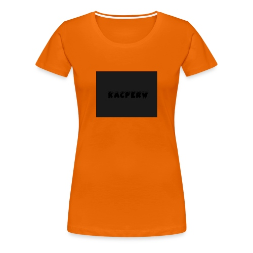 KacperW Merchandise - Vrouwen Premium T-shirt