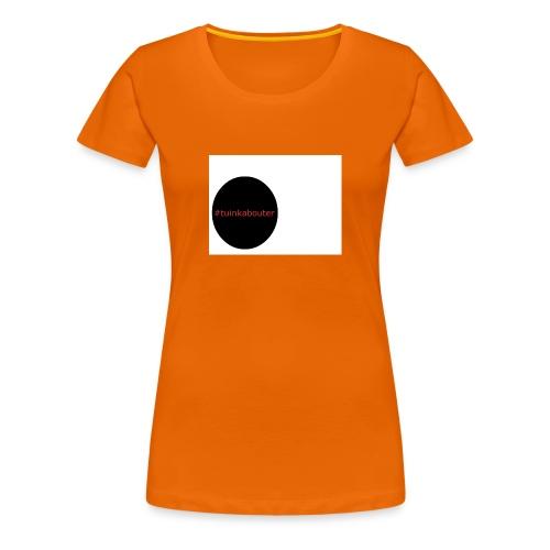 #tuinkabouter - Vrouwen Premium T-shirt