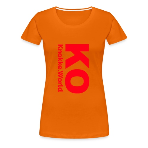 Knokke Mok - Vrouwen Premium T-shirt