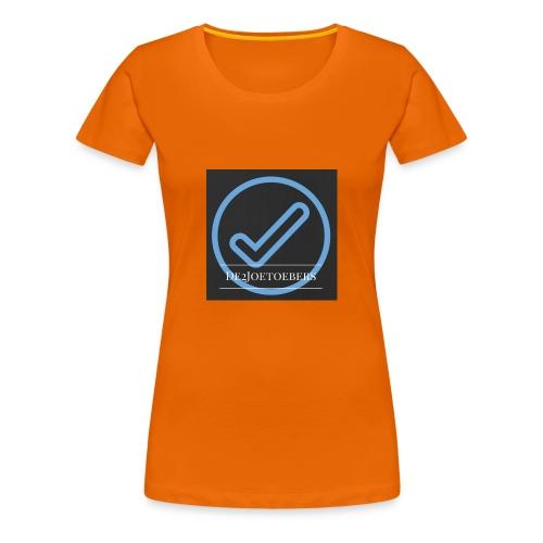 The2Joetoebers - Vrouwen Premium T-shirt