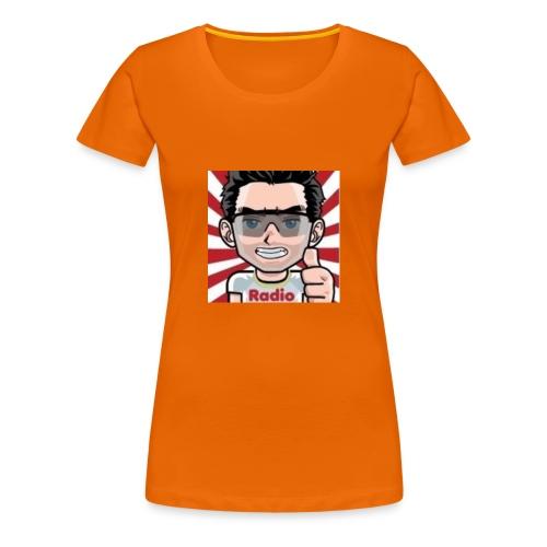 RadioLive - T-shirt Premium Femme