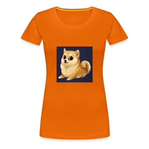 CuteDogiiShirt<3 - Frauen Premium T-Shirt
