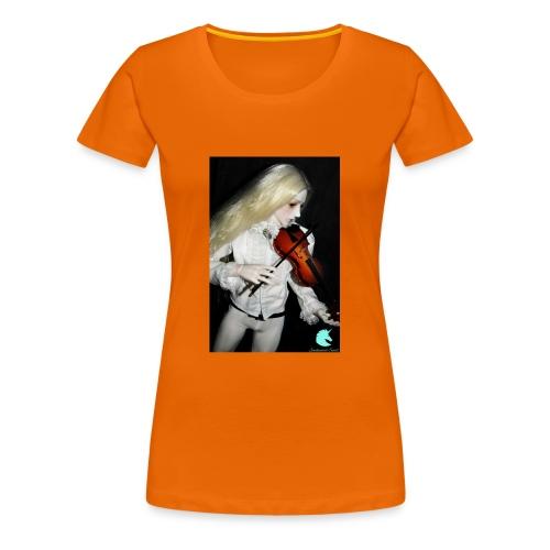 Vampire Violin Gothic Music Fantasy Enchanted - Women's Premium T-Shirt