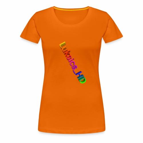 luksics - Frauen Premium T-Shirt