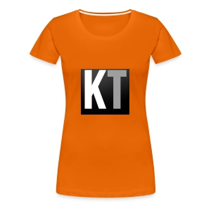 KT iPhone edition phone case - Women's Premium T-Shirt