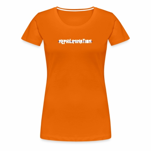 nephilimination logo white - Vrouwen Premium T-shirt