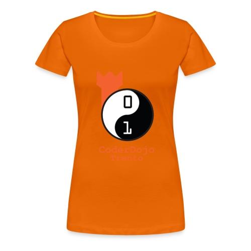 logo-coderdojo-hi-res - Maglietta Premium da donna