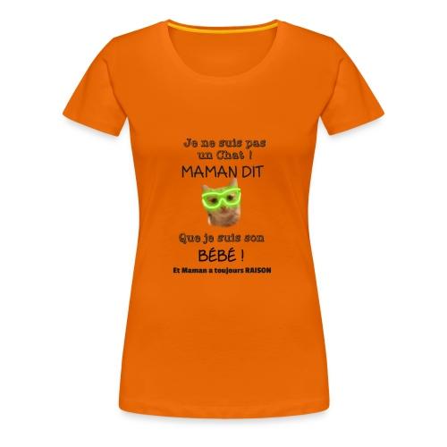 O'Malley le Bébé ! - T-shirt Premium Femme