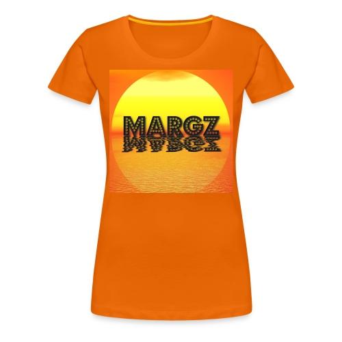 Sunset over Margz - Women's Premium T-Shirt
