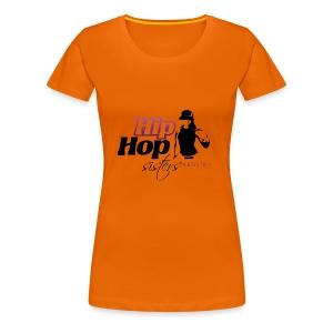 HIP HOP DISTERS - Camiseta premium mujer