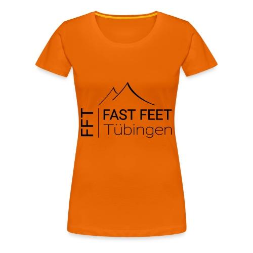 Fast Feet Tübingen TR - Text-Logo - Frauen Premium T-Shirt