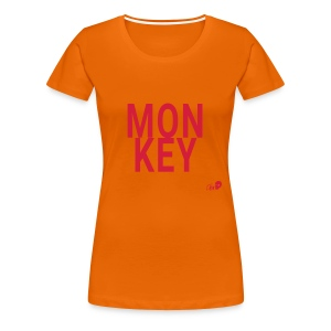 MON KEY - Women's Premium T-Shirt