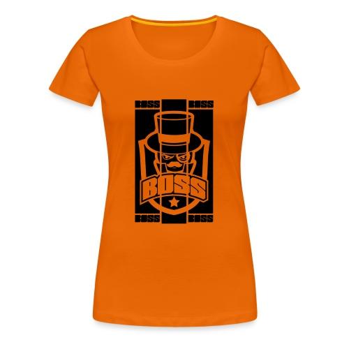 BOSS_BRAND - T-shirt Premium Femme