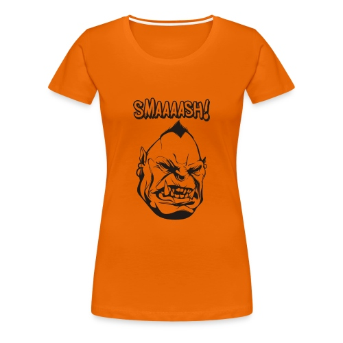 Smaaaash - Premium-T-shirt dam