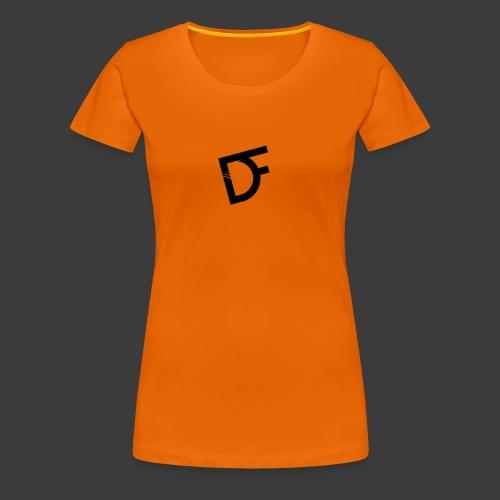 DoubleFace en noir - T-shirt Premium Femme