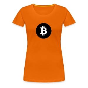 I Love Bitcoin - Frauen Premium T-Shirt