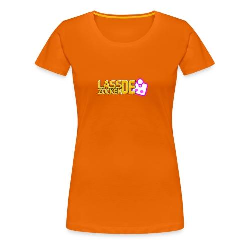 LassZockenDe Logo - Frauen Premium T-Shirt