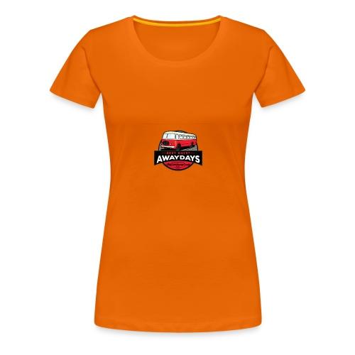best days? Awaydays! - Vrouwen Premium T-shirt