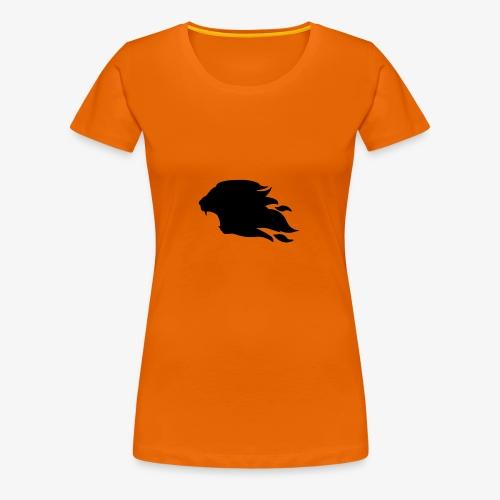 PR3DATOR (Half Logo) [Black] - Women's Premium T-Shirt