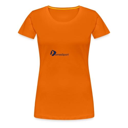 Logo DomesSport Blue noBg - Frauen Premium T-Shirt