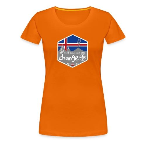MootIsland Abzeichen - Frauen Premium T-Shirt