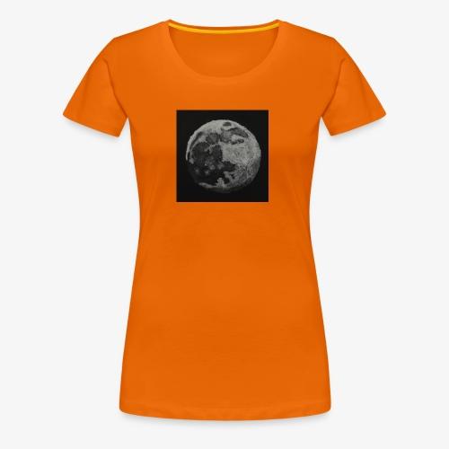 Mond - Frauen Premium T-Shirt