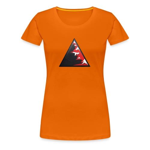 Climb high as a mountains to achieve high - Women's Premium T-Shirt