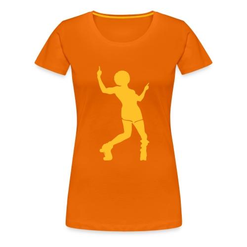 Roller disco - T-shirt Premium Femme