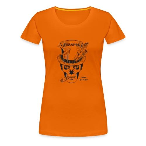 Steampunk Voodoo Spiced Rum - Women's Premium T-Shirt